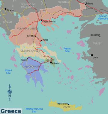 360px-Greece regions map