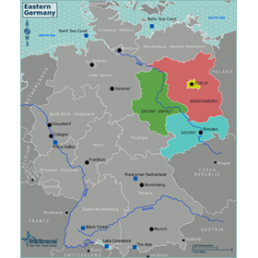 SmartTravel New states of Germany (Neue Länder)