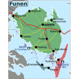 SmartTravel Funen and Surrounding Islands  (Fyn)