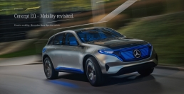 Mercedes EQ: The new brand for electric mobility.