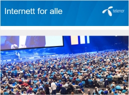 Internett for alle - Telenor